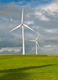 очистьте зеленую планету Стоковые Фото