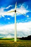очистьте зеленую планету Стоковые Изображения RF