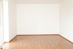 Очистьте интерьер белой комнаты Стоковые Изображения