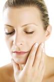 очистьте кожу Стоковые Изображения RF