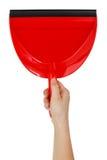 очистьте лопаткоулавливатель дома красный к стоковые фото