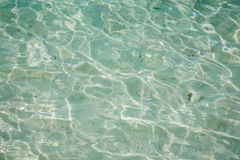 очистьте морскую воду Стоковая Фотография
