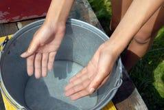 очистьте прозрачную воду стоковая фотография