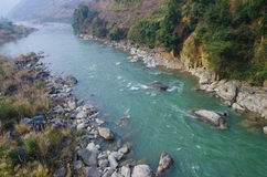очистьте реку Стоковое Фото