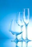 очистьте стекло глянцеватое стоковое изображение
