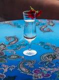 очистьте стеклянную воду Стоковое Фото