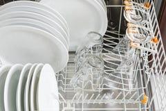 очистьте судомойку тарелок кухня икон дома конструкции приборов установила вашим стоковое изображение rf