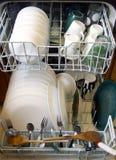 Очистьте тарелки стоковые фотографии rf