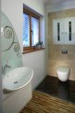 очистьте туалет стоковая фотография rf