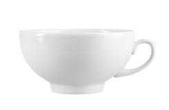 Очистьте чашку классицистическ-конструкции Стоковые Фото