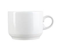 Очистьте чашку самомоднейш-конструкции Стоковое фото RF