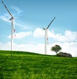 очистьте энергию принципиальной схемы Стоковые Фотографии RF
