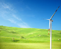 очистьте энергию принципиальной схемы Стоковые Изображения