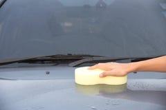 Очищать автомобиль Стоковое фото RF