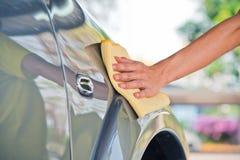 Очищать автомобиль Стоковое Изображение RF