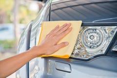 Очищать автомобиль Стоковая Фотография