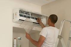 Очищать кондиционер воздуха Стоковое Изображение RF