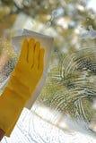 Очищать окно Стоковое Изображение