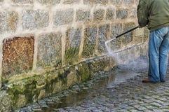 Очищать стену Стоковое Изображение RF