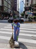 Очищать улицы Шанхая стоковое изображение