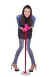 Очищать housewive Стоковая Фотография RF