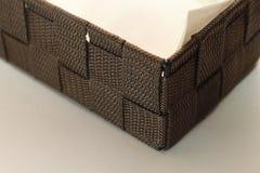 Очищая бумажная коробка Стоковые Изображения