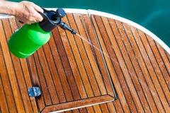 Очищая палуба Стоковая Фотография RF