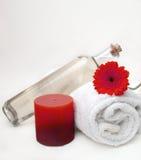 очищая спа массажа Стоковая Фотография