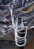 очищая сухие вешалки Стоковые Фотографии RF