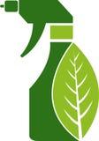 очищая травяной брызг Стоковые Фотографии RF