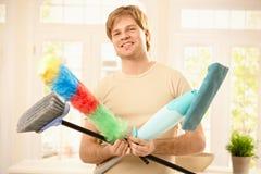 очищая уверенно инструменты ванты Стоковая Фотография RF