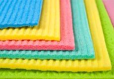 Очищая wipes Стоковые Фотографии RF