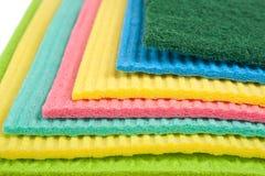 Очищая wipes Стоковые Изображения