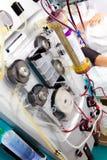 очищение медицинской процедуре по крови стоковые фотографии rf