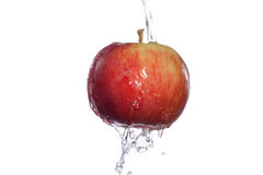 Очищенное яблоко Стоковая Фотография RF