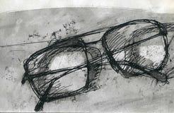 Очки Стоковое Изображение RF
