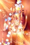 Очки Boke Рождество стоковое изображение