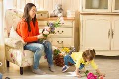 дочь ее маленькая мать Стоковое фото RF