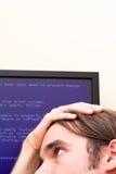 ошибка принципиальной схемы компьютера стоковое фото rf