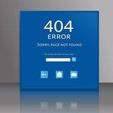 Ошибка соединения предпосылки 404 векторов абстрактная Стоковая Фотография