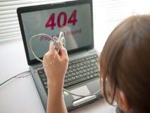 ошибка 404 стоковое изображение