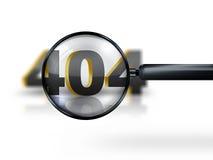 ошибка 404 Стоковые Изображения RF