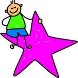 оягнитесь звезда Стоковая Фотография RF