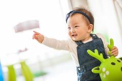 Оягнитесь играть игрушки Стоковая Фотография RF