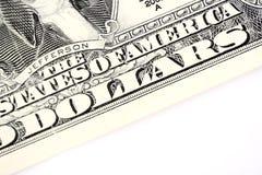 2 доллара текста счета Стоковое Фото
