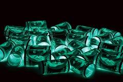 100 долларовые банкноты & x28; банкноты & x29; , U S валюта-- в предохранении от ультрафиолетового света Стоковые Изображения RF
