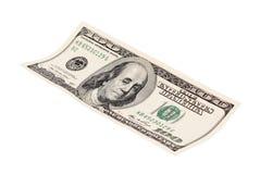 100 долларовых банкнот Стоковая Фотография