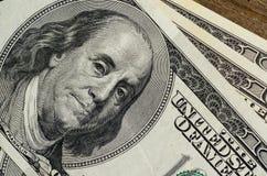 100 долларовых банкнот Стоковые Фотографии RF