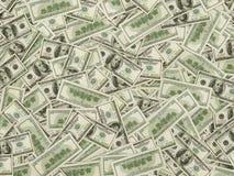 100 долларовых банкнот b Стоковая Фотография