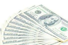 100 долларов Америки Стоковое фото RF